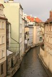 Prague. Chertovka river Royalty Free Stock Photo