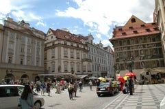 Prague, Chez Republic. Touristic area in Prague, Chez Republic stock photos