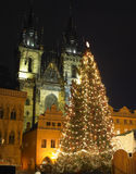 Prague at Christmas Royalty Free Stock Photo