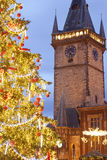 Prague christmas Royalty Free Stock Images