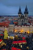 Prague christmas market Royalty Free Stock Photography