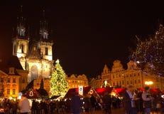 Prague Christmas market Royalty Free Stock Image