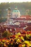 Prague church Stock Photos