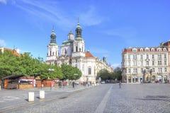Prague. The Church of Saint Nicholas Royalty Free Stock Images