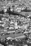 Prague city architecture in daytime Stock Photo