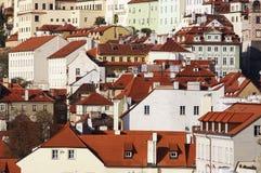 Prague - city district Hradcany Royalty Free Stock Photo
