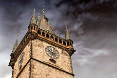 Prague city hall Royalty Free Stock Image