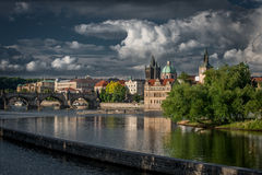 Prague. City of a Hundred Spires royalty free stock photos