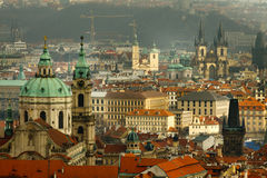 Prague - City of a Hundred Spires Stock Photography