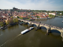 Prague. City, Old Town, Tower, Bridge Stock Photography