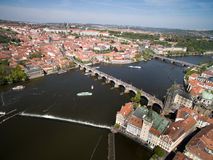 Prague. City, Old Town, Tower, Bridge Royalty Free Stock Images