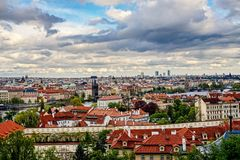 Prague city Royalty Free Stock Images