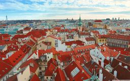 Prague City. This is a picture I took while touring Europe and visiting Prague Stock Photos