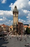 Prague city place Royalty Free Stock Image