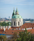 Prague city sacred architecture Royalty Free Stock Photo