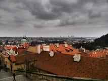 Prague City Scenery - Dynamic Harmony. Czech Rhapsody - joy and sadness Stock Images
