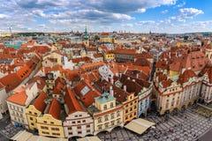 Prague city skyline Royalty Free Stock Photography