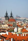 Prague, city skyline view Stock Photography