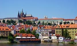 Prague city skyline Stock Photos