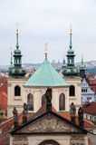 Prague City of a Thousand Spires Stock Photo