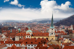 Prague City View Royalty Free Stock Photos