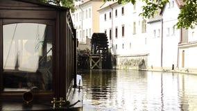 Prague Cityscape arkivfilmer
