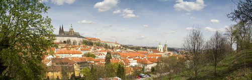 Prague cityscape royalty free stock photography