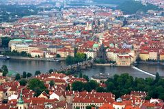 Prague Cityscape Royalty Free Stock Image