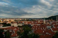 Prague cityscape 3 Royalty Free Stock Images