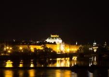 Prague Cityscape Royalty Free Stock Images