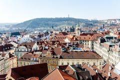 Prague cityscape panoramic view, Czech Republic, Europe Royalty Free Stock Photos