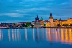 Prague cityscape skyline - Czech Republic Royalty Free Stock Photography