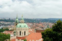 Prague Cityscape, Tjeckien, Eastern Europe Royaltyfri Foto