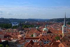 Red Roofs - Prague - Czech Republic Stock Photo