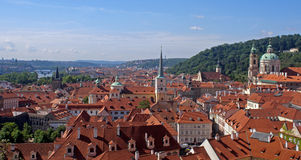 Red Roofs - Prague - Czech Republic Royalty Free Stock Image