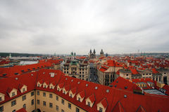 Prague. Clementinum. Birds Eye View. Prague. Clementinum Stock Image