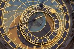 Prague Clock Stock Photography