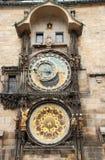 Prague clock Royalty Free Stock Photos