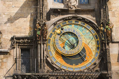 Prague clock Royalty Free Stock Photos