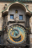 Prague clock Stock Photo