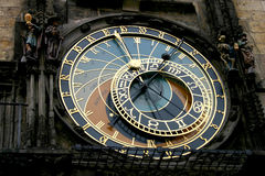 Prague clock Stock Photography