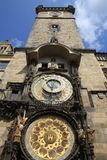 Prague clock tower Stock Image