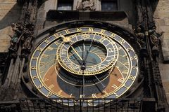 Prague clock tower. From czech republic Stock Image