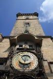 Prague clock tower Stock Photos