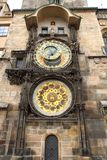 Prague clock tower Royalty Free Stock Images
