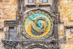 prague clock tower Stock Images