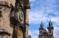 Prague Clock Tower Royalty Free Stock Photos