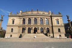 Prague Concert Hall Stock Images