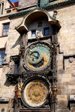 Prague, Czech Rep: Astronomical Clocks Stock Photo