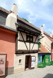 Prague, Czech Rep: Golden Lane Cottages Stock Photo